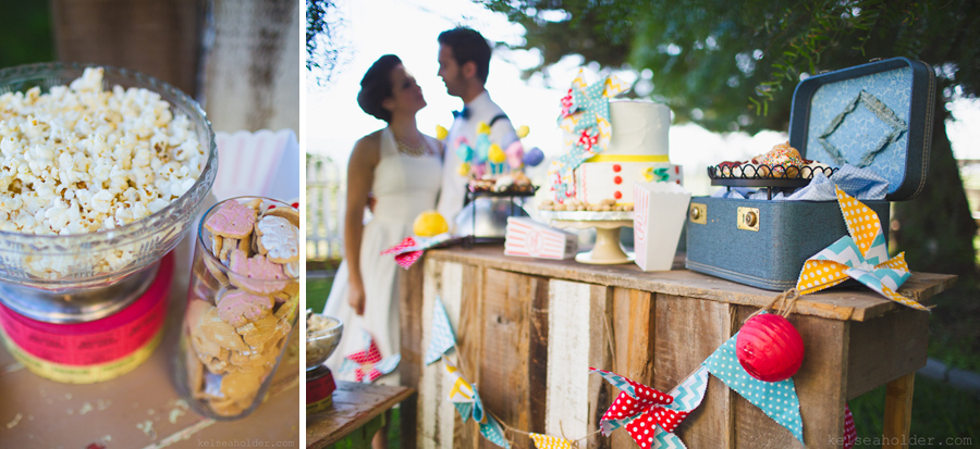 Vintage Circus Wedding by Kelsea Holder Photography
