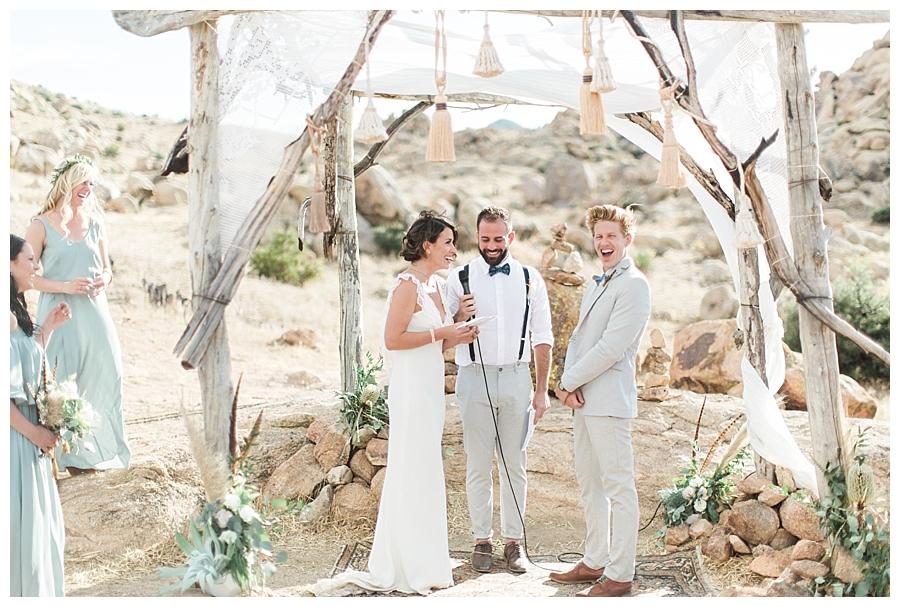 bohemian wedding,joshua tree elopement,joshua tree wedding,joshua tree wedding photographer,kelsea holder,le haute desert aerie,palm springs wedding,pow wow event design,shelter co,