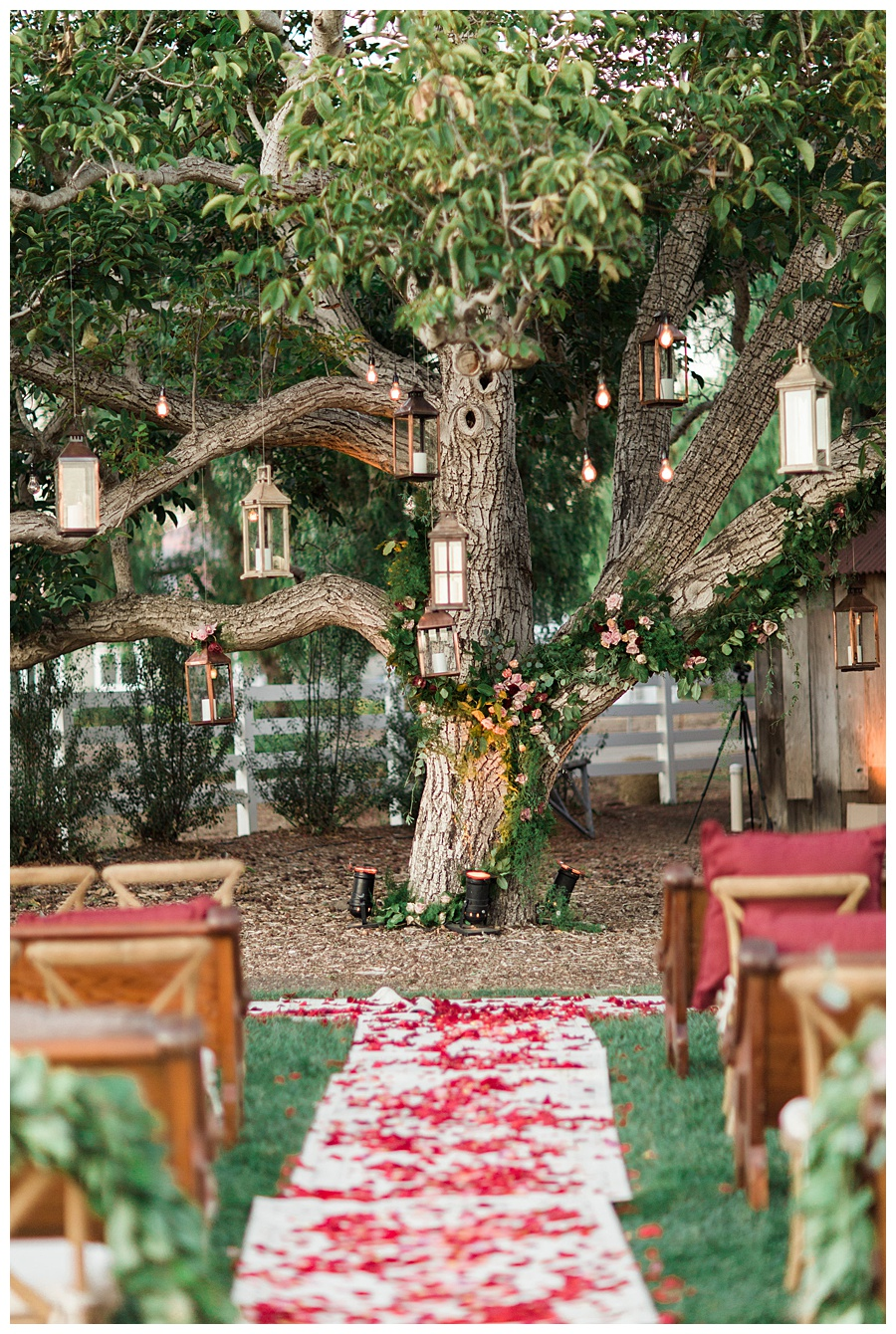 Greengate Ranch, Winter Ceremony, Rosepetals, Colorful Winter Wedding