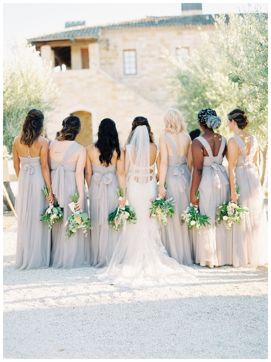 Sunstone Villa wedding bridesmaids