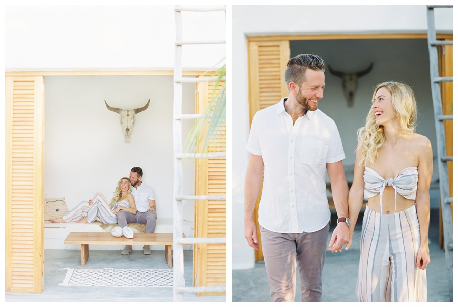 tulum engagement session